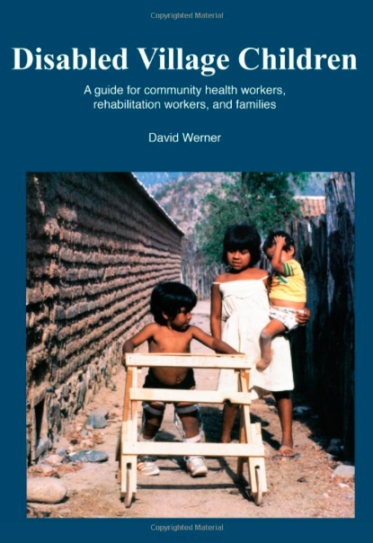 disabled village children book cover