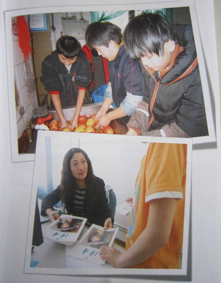 Compulsory service includes washing fruits,distribution of the magazine