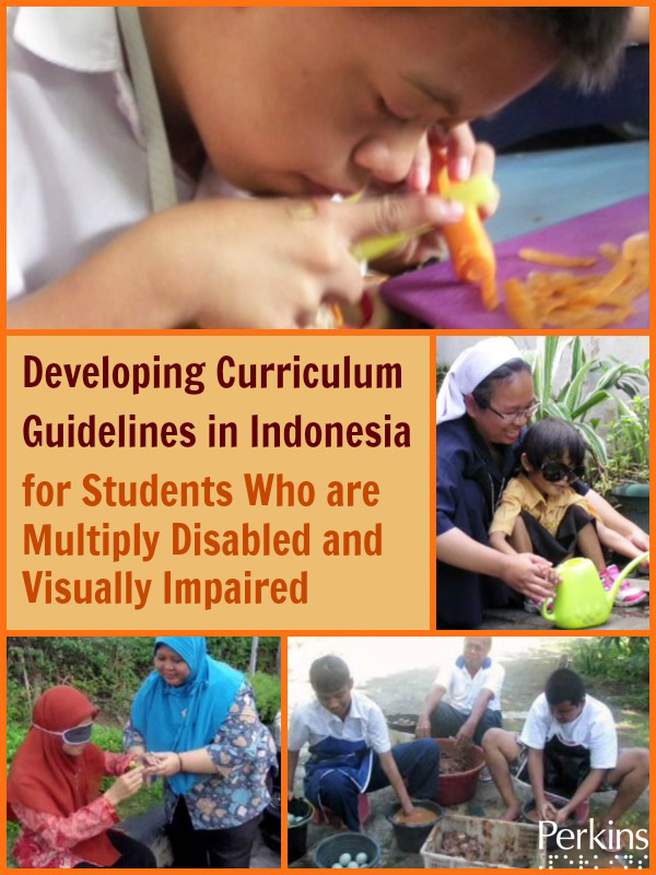 Collage of developing curriculum for students with mutiple disabilities