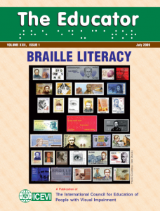 The Educator -- Braille Literacy issue