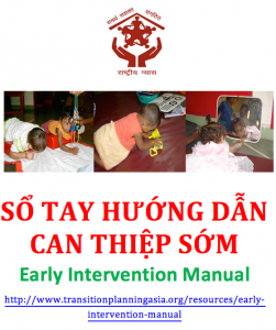 Cover of Vietnam Early Intervention manual