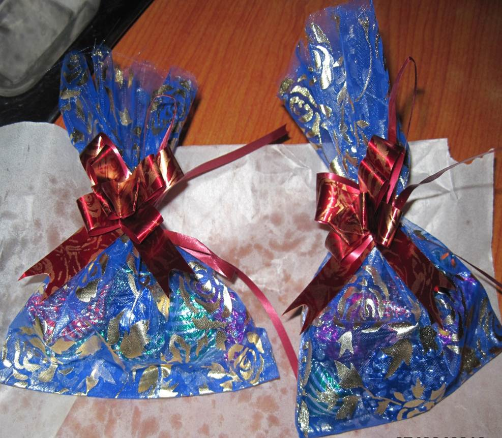 Photo of bags of chocolate